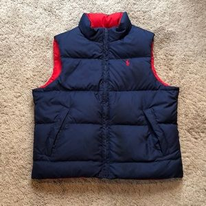Reversible Ralph Lauren Polo vest